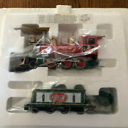 Hawthorne Village Coca Cola Holiday Express Locomotive And Tender W/coa - New