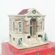 Bedford Falls Public Library It's A Wonderful Life Village Target 90s Vtg Boxed