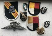 3rd Special Forces Vietnam And Post War Insignia Dis Flash Novelty Pins Patches