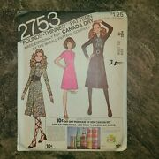 Vintage Mccalls 2753 Pounds Thinner Sewing Pattern.