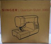 Singer® Quantum Stylist™ 9960 Computerized Sewing Machine New In Box