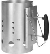 Extra Large Barbecue Chimney Starter Quick Start Bbq Grill Charcoal Burner Light