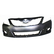 For Toyota Camry Bumper Cover 2010 2011 Front Primed Se Model Capa To1000355