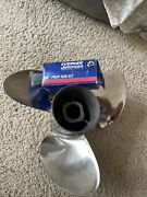 Stainless Steel Viper Tbx Propeller 15 X 14 Evinrude Oem 0763910 Brp With Hub
