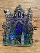Lemax Spooky Town Halloween Village - Lighted Gothic Ruins - In Box Item 65342