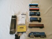 Boston And Maine 5 Car Electric Train Set.complete And Ready To Run Set. H.o.scale.e