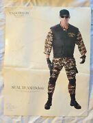 Halloween Costume Seal Team Deluxe - One Size