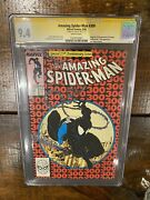 Amazing Spider-man 300 Cgc 9.4 Ss Signed Stan Lee 1st Venom Cover Todd Mcfarland
