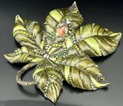 🦋 Mint Jay Strongwater Leaf With Bee Trinket Tray Dish