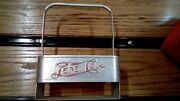 Vintage Pepsi Cola Double Dot Metal 6 Pack Bottle Carrier 1940and039s