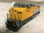 Mint Ho Scale Atlas Master Dash 8-40cw Union Pacific Up 9518 W/dcc And Sound