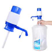 5 Gallon Hand Pump For Water Bottle Jug Manual Drinking Tap Spigot Camping I-