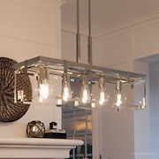 Luxury Modern Farmhouse Chandelier Large Size 15.75h X 36.75w With Chic And