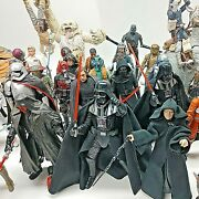 Star Wars The Black Series 6 Inch Action Figures Collection Lot