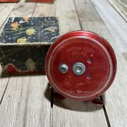 Vintage Ocean City/olympic No. 45 Fly Fishing Reel 1950andrsquos Made In Japan