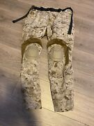 Crye Precision Aor1 Combat Pants Aor1 36r W/ Knee Pads Legit Issued Not Custom