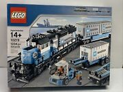 Lego 10219 Maersk Train. Rare 75 Complete With Instructions.