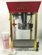 Great Northern Popcorn Red Antique Style Popcorn Popper Machine 8 Ounce
