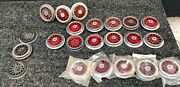 Mew Smws, Standard Gauge Lionel Electric Loco Red Wheel Lot, 22pcs., Made Inusa