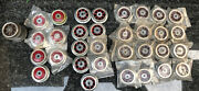 Mew Smws, Standard Gauge Lionel Electric Loco Red Wheel Lot, 32pcs., Made Inusa