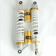 400mm Motocycle Rear Shock Absorber With Gas Cylinder Round Hole Motorcycle Part