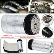 Protect Cover Heat Shield Sleeve Metallic Heat 20mm 1 Pcs Sale Replaces