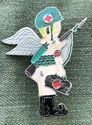 57th Medical Det Air Ambulance Dust Off Vietnamese Made Beercan Dui Di Angel