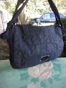 Marc Jacobs Quilted Nylon Messenger Bag Large
