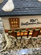 Dept 56 Dickens Village The Old Curiosity Shop Rare Books Antiques Christmas