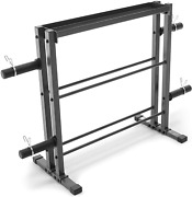 Combo Weights Storage Rack Dumbbells Kettlebells Weight Plates Sports Fitness