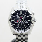 Seiko Sarn003 Gmt Day Date 4s36-00a0 Box Automatic Mens Watch Authentic Working