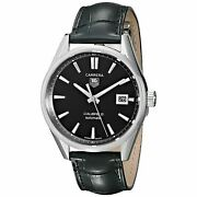 Tag Heuer 2500 Men's Carrera Calibre 5 Automatic Leather Watch War211a.fc6180