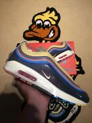 Nike Air Max 1/97 Sean Wotherspoon Uk10 Aj4219-400 ✅ Fast Delivery 🚚