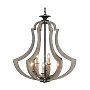 Craftmade Lighting 35139-wp Winton - Nine Light Foyer - 38 Inches Wide By 24