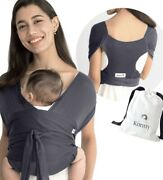 Konny Baby Carrier | Baby Wrap Sling | Newborns Infants To 44lbs Large