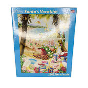 Vermont Santaand039s Vacation Discontinued Christmas Company 1000pc Jigsaw Puzzle