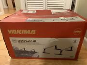 New Yakima Outpost Hd Towers - Mid-height Heavy Duty Truck Bed Rack