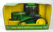 Ertl Toys John Deere 9420t 1/16 Scale Toy Tractor In Box With Rubber Tracks