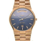 Longines Gold Medal Day-date Blue Dial Quartz Menand039s Watch K107120