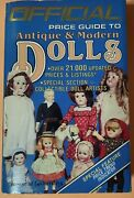 Official Price Guide To Antique And Modern Dolls By House Of Collectibles