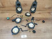 ✅ Oem Bmw E71 X6 M Front Rear Left Right Individual Sound Audio Speakers Set