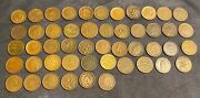 Civil War Tokens Mixed Lot Of 49 Tokens Great Condition Fair Price Buyer/seller