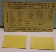Ho Decals Union Pacific Up Diesel Switcher Ds10213456720 By Walters Decal 934