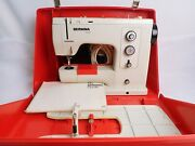 Bernina 830 Record Sewing Machine W Case Cord Manual And Pedal In Good Condition