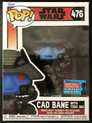 In Hand Funko Pop Cad Bane With Todo 360 Star Wars Nycc 2021 Ready To Ship