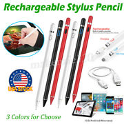 Universal Touch Screen Stylus Pencil For Tablet Phone Pen With Usb Charge Cable