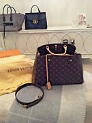 New Louis Vuitton Montaigne Handbag M41067 With Box And All. Sold Out At Lv