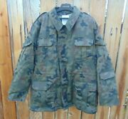 Polish M93 Camo Field Jacket W/liner Size M To 3xl Nos And Used Nice Free Ship