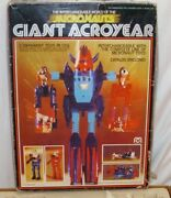 Mego Micronauts Gaint Arsoyear Robot Figure Parts And Pieces Lot With Box 1977