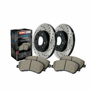 Stoptech For Audi A6/a7 Quattro 2016-2019 Axle Pack Front Rotors + Pads Packages